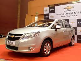 new car launches team bhpChevrolet Sail Sedan Launched  Rs 499751 Lakhs  TeamBHP