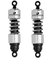 Progressive Suspension Fitment Chart Triumph Thruxton 900 Progressive Suspension 412 Series Shock Absorbers