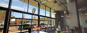 glass garage door restaurant. Glass Garage Doors For Breweries Door Restaurant
