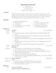 Sample Resume Waitress Best Of Restaurant Resume Example Lespa
