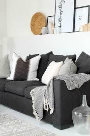 charming dark gray couch light grey sofa decorating ideas dark gray couches