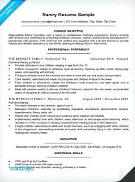 Babysitter Resume Examples How To Put Babysitting On A Resume Sample