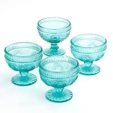 the pioneer woman adeline 10 oz glass sundae cups set of 4 com