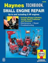 Small Engine Repair Haynes Techbook 5 HP and Less Haynes Repair ...