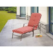 Mainstays Jefferson Wrought Iron Chaise Lounge Black Walmart