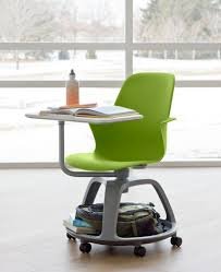 the steelcase node desk flexible comfortable portable suitable for right or left handed i wish they had these when i was in school