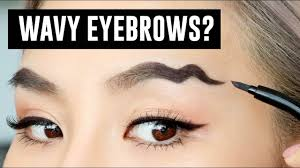 wavy brows the latest makeup trend