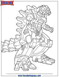 Small Picture Godzilla Robot Coloring Page H M Coloring Pages