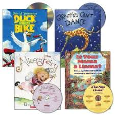 read aloud book and cd set set of 4