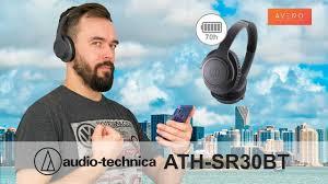 70 ЧАСОВ МУЗЫКИ <b>Audio</b>-<b>Technica ATH</b>-<b>SR30BT Обзор</b> ...