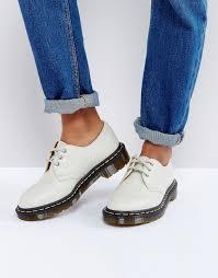 dr martens dr martens 1461 leather lace up flat shoe