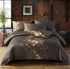 zange bedding brown luxury 100 egyptian cotton sets satin