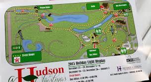 hudson garden map