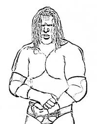 Small Picture Wwe Sting Wrestler Coloring PageStingPrintable Coloring Pages