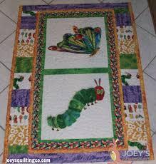 Hungry Caterpillar Quilt &  Adamdwight.com