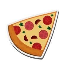 pizza slice graphic. Interesting Slice Pizza Slice Icon Vector  Intended Slice Graphic C