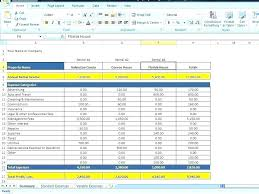 Monthly Household Expense Form Excel Expenses Template Monthly Personal Expense Tracker Spreadsheet