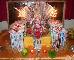 Small Picture Ganpati Decoration Ideas for Home The Royale