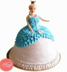 Blue Barbie Cake Tera Mera Cake