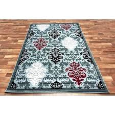 red and black area rugs grey tan