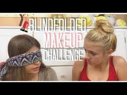 blindfolded makeup challenge would you rather talk