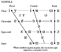 Linguists designed ipa to be unambiguous pay attention to what your tongue is doing for each vowel. Ipa Tables