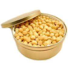 macadamia nuts roasted unsalted gift tin