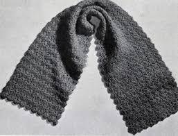 Mens Scarf Crochet Pattern Best Easy Mens Scarf Crochet Pattern Crochet And Knit