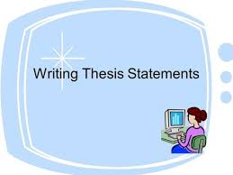 key to solid writing iuml a thesis statement presents your opinions writing thesis statements what to do before writing a thesis statement you must begin