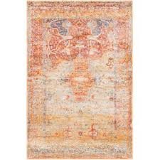 orange area rug. Parodi Yellow/Orange Area Rug Orange