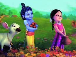 Cute Bal Radhey Krishna 3d HD Desktop ...