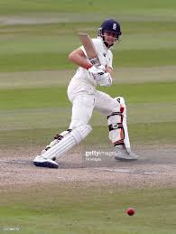 England's Joe Root batting during day ...