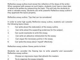 reflective essay format com reflective essay format