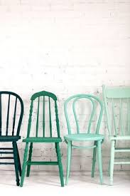 give an old chair a lick of paint add a jazzy cushion to make a colourful feature for any room