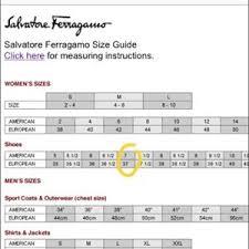 Ferragamo Women S Shoe Size Chart Salvatore Ferragamodark Brown Croc Leather Flats