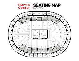 Seating Charts Staples Center