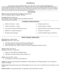 Fake Resumes 3 Excellent Fake Work Experience Resume 15 With Additional  Format