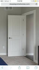 image of 2 panel interior door styles diy panel interior doors shaker style primed door