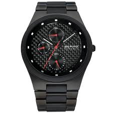 bering time mens watch black carbon fiber dial and black bering time mens watch black carbon fiber dial and black ceramic bracelet quartz movement