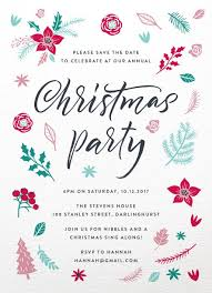 White Christmas Invitations Christmas Party Invitations Independent Designs