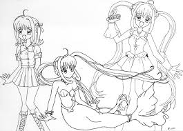 Small Picture Mermaid Melody Luchia Princess Coloring Coloring Pages