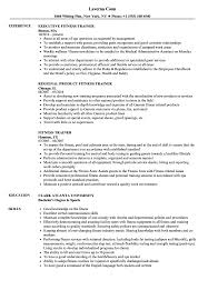 Resume For Fitness Trainer Fitness Trainer Resume Samples Velvet Jobs 17