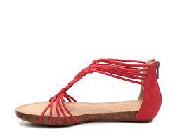 Me Too Designer Me Too Nyla Flat Sandal Cognac Women Exclusive Deals Online