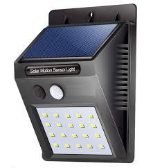 Electron Led Lights Electron Garden Solar Motion Sensor Led Light Street Wall