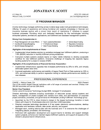8 Information Technology Manager Resume Sample Paige Sivierart