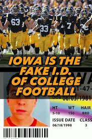 Are Cowherd Of The Iowa - Fake Colin Hawkeyes Id