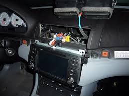 howto install dynavin e46 v5 head unit in an e46 2005 m3 w oem now recheck all connections make sure nothing is connected where it shouldn t be and then replug in the battery if all goes well you will be greeted