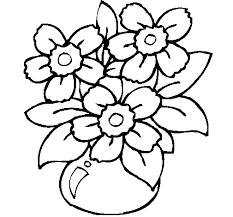 Disegno Di Vaso Di Fiori Da Colorare Acolorecom