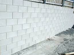cinder block paint painting wall concrete colors exterior walls picture cin tile over painted concrete block wall