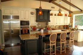 Remodel Kitchen Island Made Kitchen Island Design Island Remodeled Kitchens Country Decor